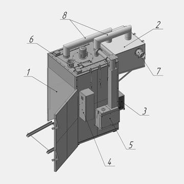 Камера КСХК для вяления, сушки и холодного копчения рыбы