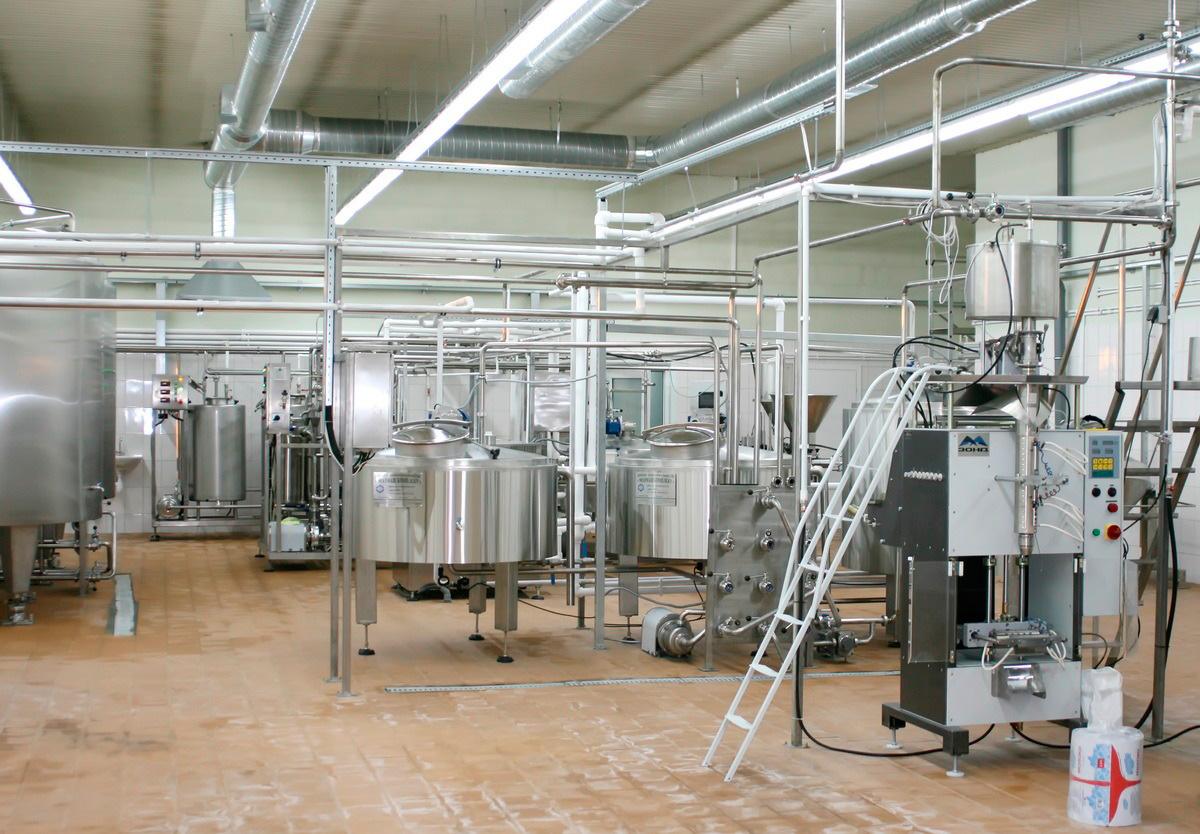 Заводы по переработке молока