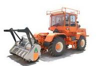 Кусторез-мульчер-фрезеровщик пней на базе трактора ХТЗ-150К-09-25-15