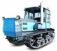 Модернизированный гусеничный трактор Т-150-05-09-25